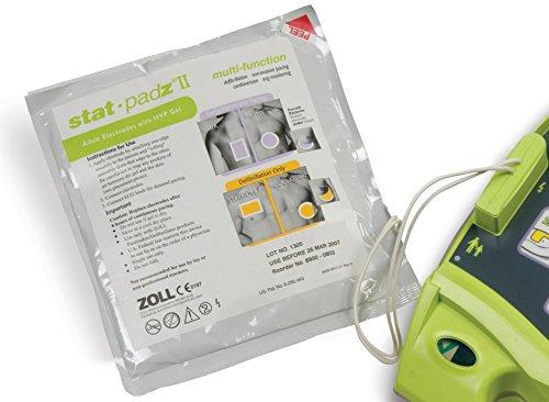 Zoll Stat-padz II, Electrodos para adultos, Multicolor