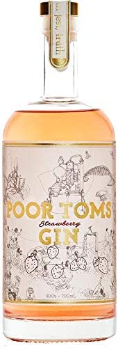 Poor Toms Gin Strawberry Gin 700mL