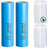 2 (Samsung) 20S 18650 2000 mAh 30A Akkus INR für E-Zigarette Batterien Akku Dampfen Akkus für dampfer E-Zigarette + Akkubox