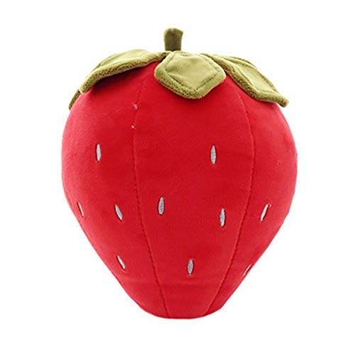 DaoRier 1 Stück Plüschtier Plüschpuppe Kuscheltier Stofftier für Kinder / Kindergeburtstagsgeschenk / Erdbeere