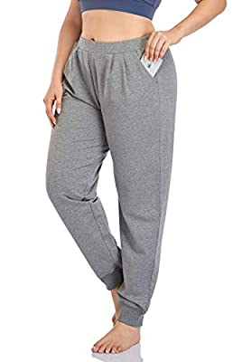 ZERDOCEAN Women's Plus Size Sweatpants Jogger Pants Active Pant Workout Running Pants with Two Pockets Darkgray 4X