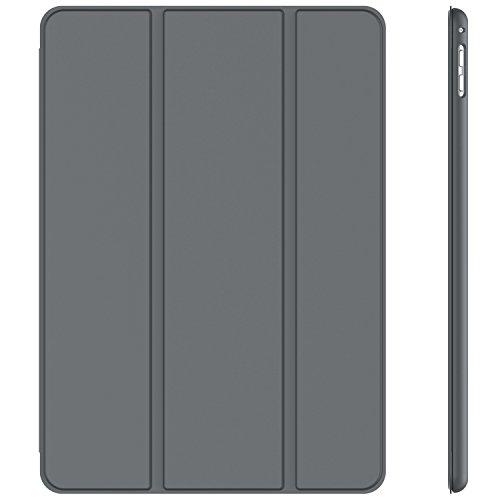 JETech Hülle für Apple iPad Pro 9,7, Schutzhülle mit Ständer Funktion und Auto Schlaf/Wachen, Dunkel Grau