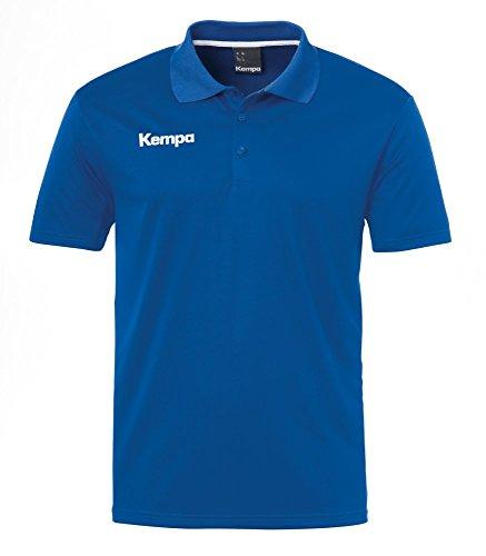Kempa Herren Poly Polo Shirt, Blau (royal), Gr. XL