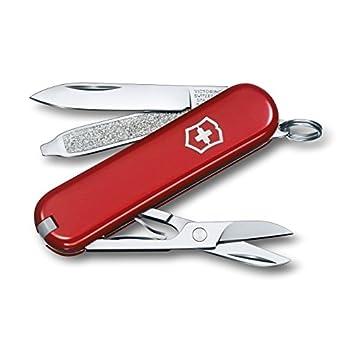 Victorinox Swiss Army Classic SD Pocket Knife Red ,58mm