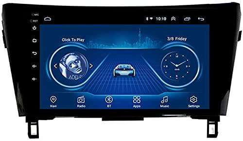 Radio de Coche Android 8.1 10.1 Pulgadas Navigation para Nissan Qashqai X-Trail 2013-2016 Soporte Android/iOS Mirror Link Bluetooth WiFi FM USB,4G:4+64G DSP+CarPlay