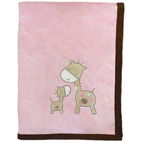 Snuggle Baby Giraffe Couverture pour bébé, Rose, Moses/Berceau/landau Enregistrement au Shortlist