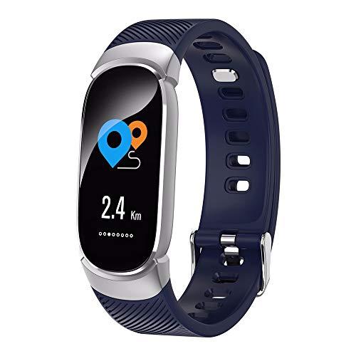 LRWEY Fitness Smart Watch, Sport multifunktionaler Fitness Tracker Herzfrequenz Tracker Blutdruck Uhr, für Android iOS