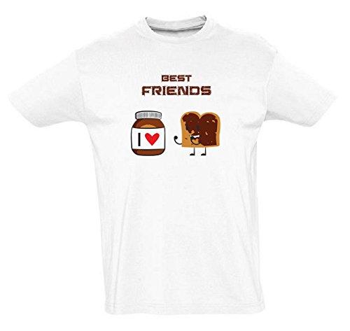 Nutella Funny Mens & Ladies/Herren & Damen Unisex T-Shirt (XL)