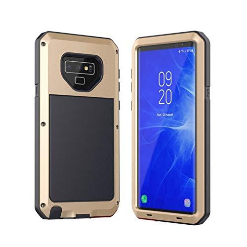 Protector de pantalla incorporado impermeable Estuche A Prueba De Golpes A Prueba De Golpes Anti-golpe De Metal Ajuste A Prueba De Golpes Ajuste Para Fit For Samsung Galaxy S8 S9 Plus S7 S6 Edge Note