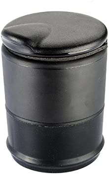 Plastique Noir de HomeKit Fabriqu/é en plastique noir r/ésistant Comprend un couvercle bateaux et SUV Lot de 2 camions Cendrier ou support /à boisson universel pour voitures
