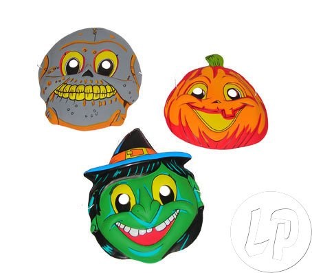 Fiesta Palace - masque plat halloween pour adulte mix
