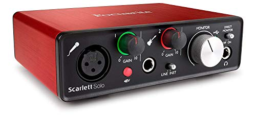 Focusrite, Scarlett Solo 2Nd Gen, Interfaccia Audio Usb