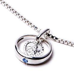 Die wunderschöne Silberkette mit Anhänger als Taufgeschenk bestellen
