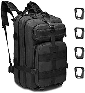 45L Mochila Táctica de Asalto Militar Resistente al Agua Mochila Molle para Trekking Camping Senderismo Viajar