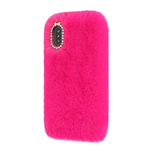 LIUYAWEI Estuche de Lujo para teléfono con Diamantes para Samsung Galaxy S20 Ultra 5G S9 S8 Plus S10 Lite S10e Note 10 20 Funda de Silicona Suave, Rosa roja, para S7 Edge