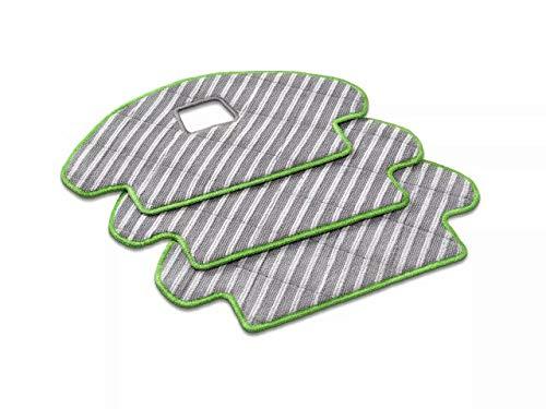 iRobot Originalteile - Roomba Combo waschbares Reinigungstuch (x3) - Wiederverwendbar - Nur mit der Combo-Serie kompatibel - Grau und Grün