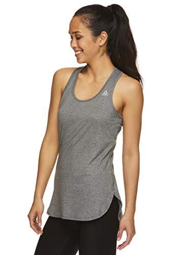 Reebok - Camiseta de tirantes para correr y entrenar, diseño de leyenda