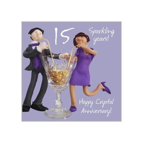 15th Wedding Anniversary.15th Wedding Anniversary Gifts Amazon Co Uk