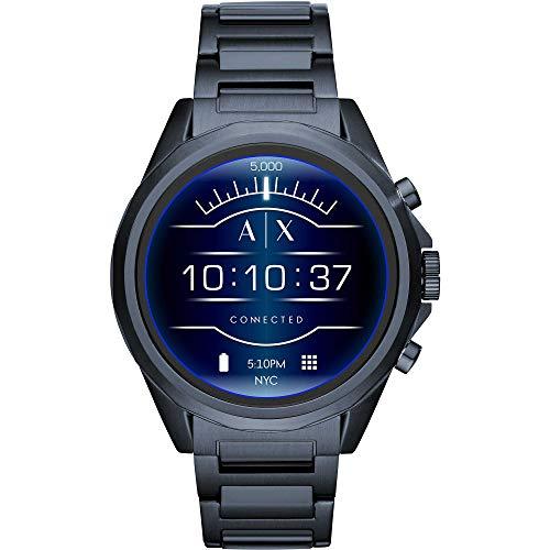 Armani Exchange Smartwatch Uomo con Cinturino in Acciaio Inox AXT2003