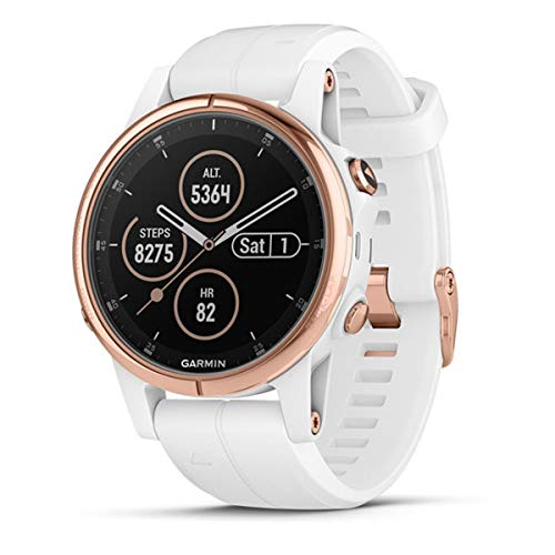 Garmin Fenix 5S Plus Zafiro Rose Gold