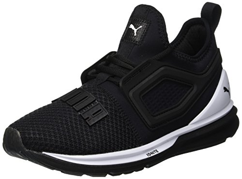 Puma Ignite Limitless 2, Scarpe Running Unisex-Adulto, Nero Black White, 42.5 EU