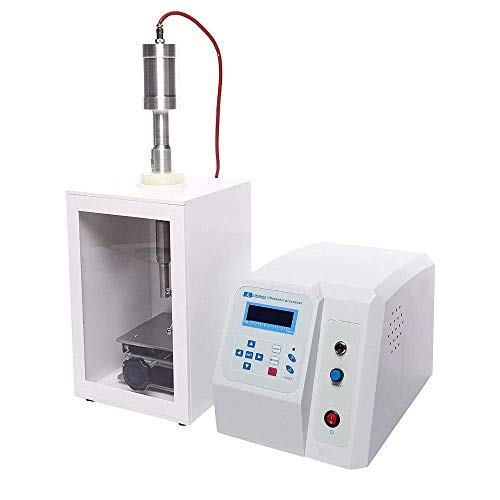 MXBAOHENG Ultraschall-Homogenizer Solutions Prozessor Mixer 80 W Verarbeitungsvolumen 500ul-50 ml mit Standard Konfiguration Horn - 3mm