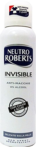 12 x neutre Roberts Deo personne Spray Invisible 150 ml