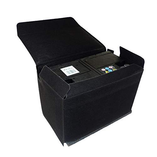 Batterieschutzhuelle Schutzhuelle Thermoschutz Marderschutz für Batterie 65-75AH Isolierung Tasche Frostschutz Huelle, universell passend