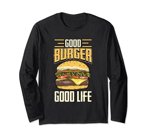 Burger Cheeseburger Papier - Prensa para hamburguesas Manga Larga