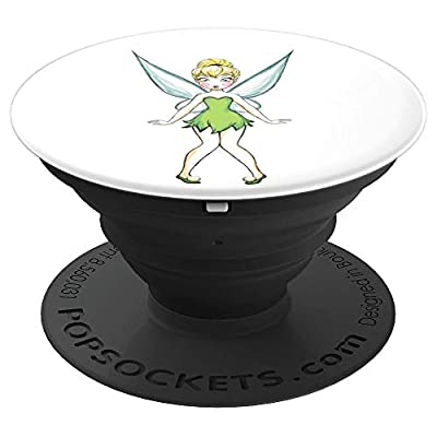 Disney Tinker Bell Surprised PopSockets Grip and Stand for Phones and Tablets