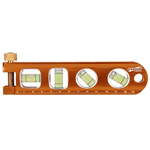 6 Inch SAVAGE Magnetic Billet Torpedo Level W/Pipe Clamp, Metric (15 CM),...