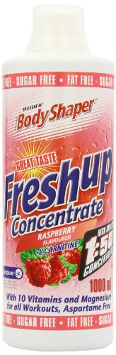 Weider Fresh Up Concentrate Raspberry, Low Calorie Multivitamin Formula, Magenesium, L-Carnitine, Sugar & Fat Free