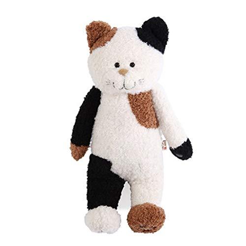 47-B - Peluche a forma di gatto, gigante/grande, peluche peluche, animali di peluche, cuscino di peluche abbracciare cuscino animale farcito (colore : marrone, taglia: XL)