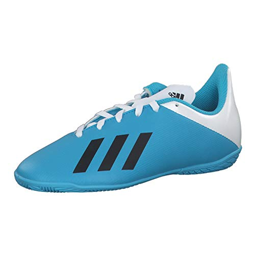 adidas F35352_35 Indoor Football Trainers, Blue, EU