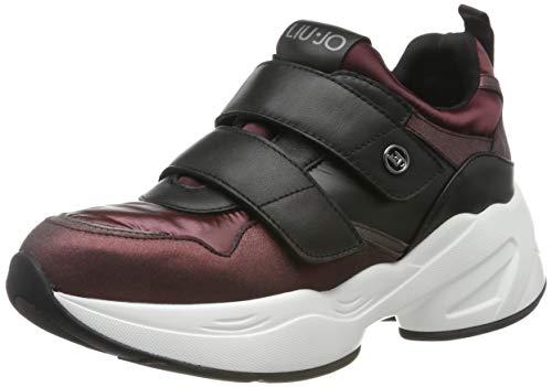 Liu Jo Shoes Jog 10 Sneaker, Scarpe da Ginnastica Basse Donna, Rosso (Bordeaux S1703), 36 EU