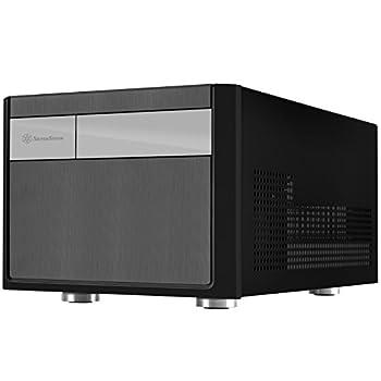 SilverStone Technology Small Form Factor Micro-ATX Computer Case SG11B-USA