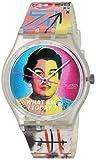 Swatch Bisex - Reloj de Cuarzo Suizo (plástico)