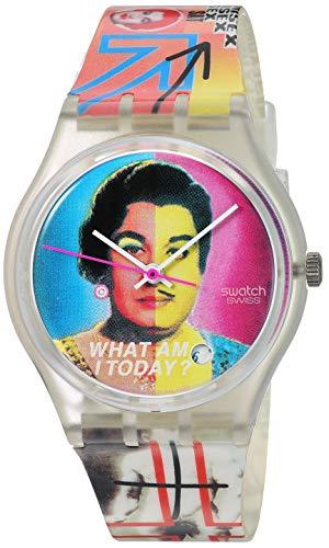 Swatch Reloj de cuarzo suizo de plástico de BB