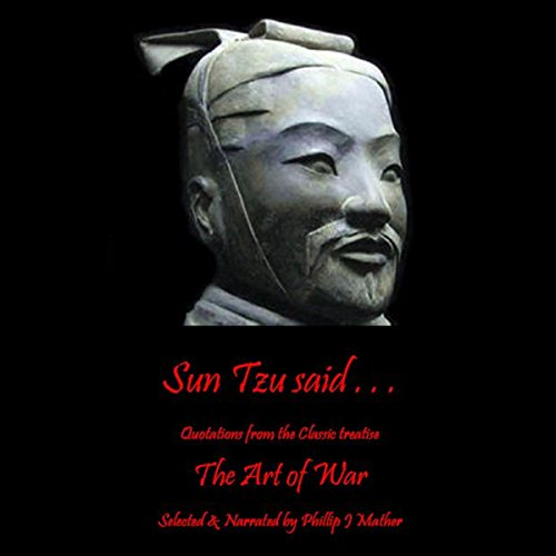Sun Tzu Said... audiobook cover art