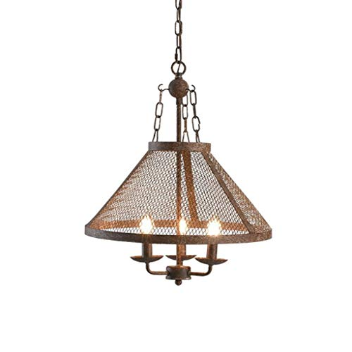 Pendelleuchten Kronleuchter, Vintage Loft-Leuchter 3-Light, Industrie Antike Deckenleuchten for Foyer, Billardtisch Licht, Speisezimmer, Club, Bar