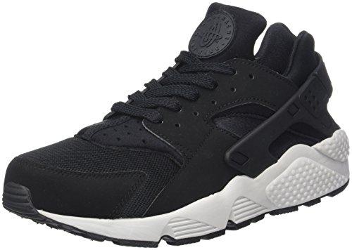Nike Herren Air Huarache Run Sneaker, Schwarz (Black/Black/Pure Platinum/blac 045), 44 EU