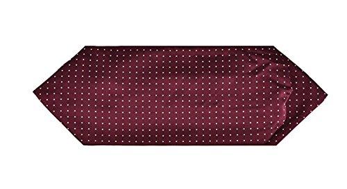 Wookki 100% Handmade Cravate Tie Ascot Homme Jeune Garçons En Polyester Soie A Poids Classique Vintage Pour Travail Fête Cérémonie Mariage Conférence