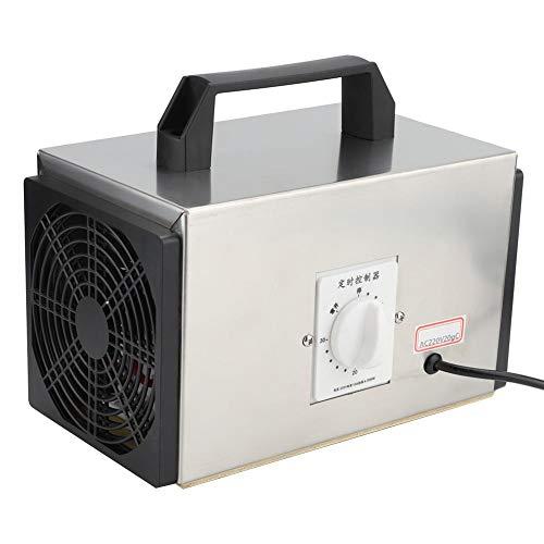 Máquina de desinfección, 20 g/h Purificador de aire industrial con interruptor de sincronización Máquina de desinfección portátil con filtro de aire para el hogar Invernadero Granja Trabajo Cobertizo