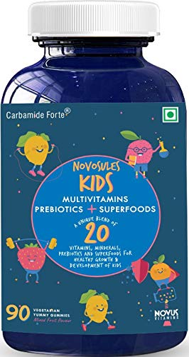 Carbamide Forte Multivitamin Gummies for Kids & Adults with Superfoods –90 Gummies