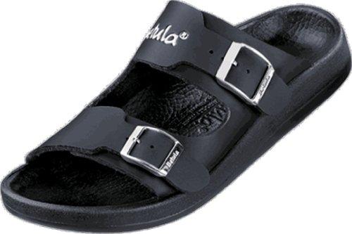 Betula Shark Damen Bade-Sandalen Birko-Flor, Neopren Schwarz, Größe 41 mit schmalem Fußbett