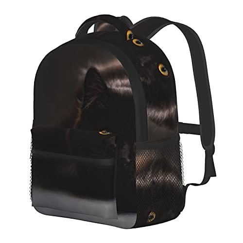 Mochila Maine Coon para niños y niñas, mochila escolar para jardín de infancia, preescolar, bebé, guardería, bolsa de viaje con clip para el pecho