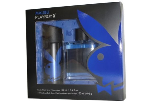 Playboy Malibu Geschenkset 100ml EDT + 150ml Deodorant Spray