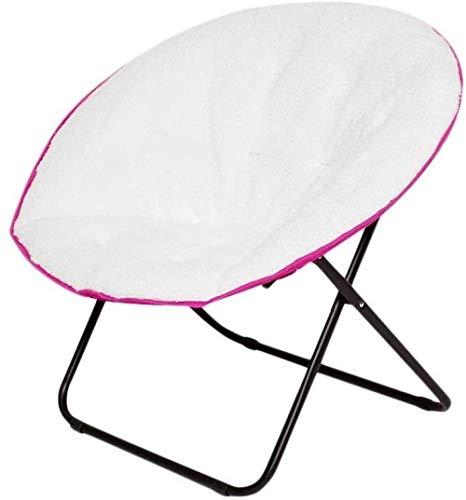 Moon Chair Portable Grote synthetisch leder Klapstoel Moon Chair Lichtgewicht en comfortabele grote Gedempte Kussen Construction 8bayfa