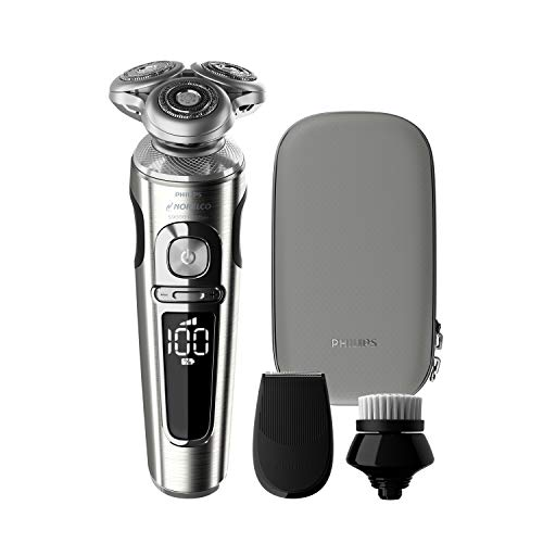Philips Norelco 9000 Prestige Electric Shaver with Precision Trimmer,...