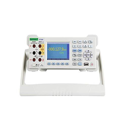 Yongenee Precisa Pantalla LCD digital de escritorio de escritorio del multímetro 6 1/2 bits de precisión Rango automático Sonda Digitales de escritorio multímetro ET3260A duradera Herramientas industr